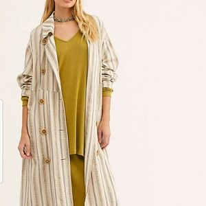 NWT Free people sweet melody duster MSRP $198